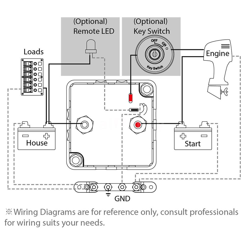 Voltage Sensitive Relay Automatic Charging 125a Dual Battery Two Switch Wiring Diagram A Vsr Is The Best Way That Can Always Ensure You To Get Vehicle Started It Allows Batteries Be Charged